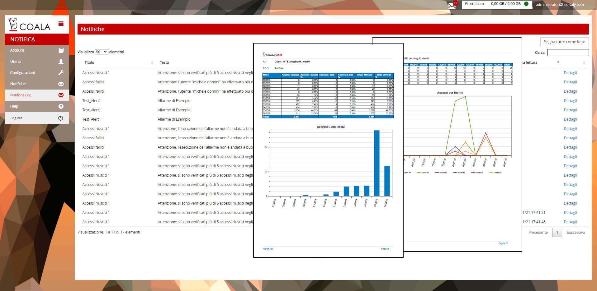 Log Management On-Premises Screenshot